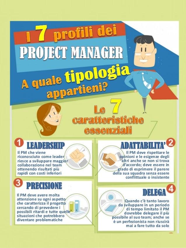 Il PM che viene riconosciuto come leader riesce a sviluppare maggior collaborazione nel team ottenendo risultati più rapid...