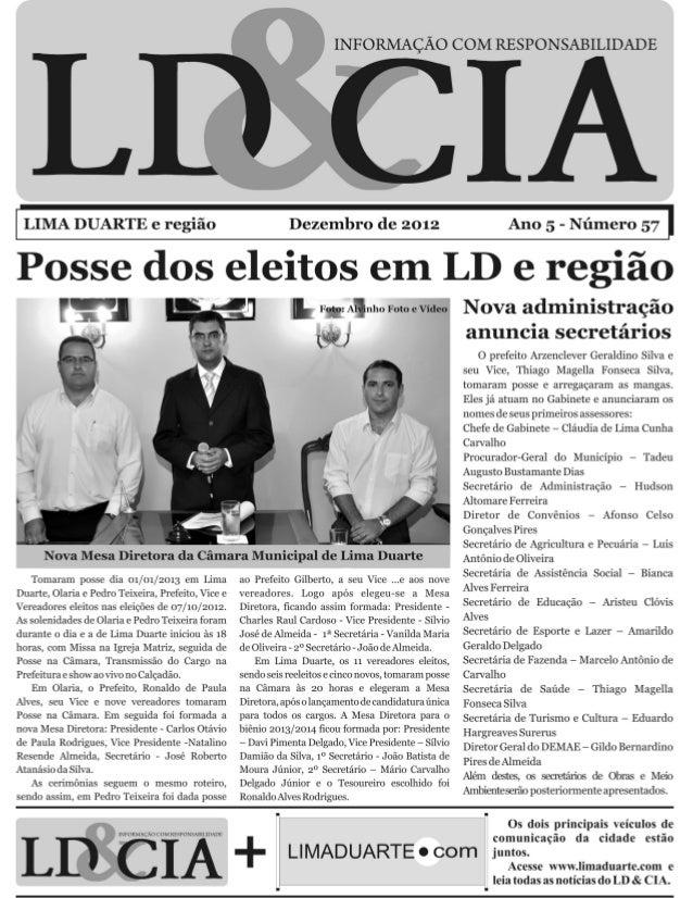 Jornal LD&Cia Edição 57