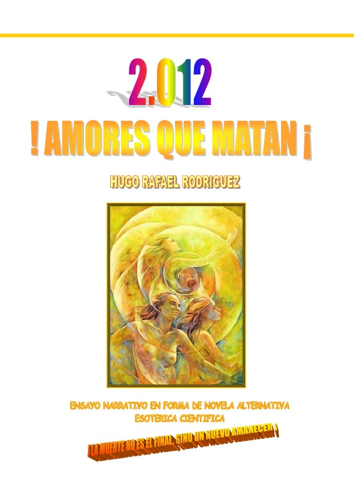 Pdf Portada 2.012 Amores Que Matan Pdf