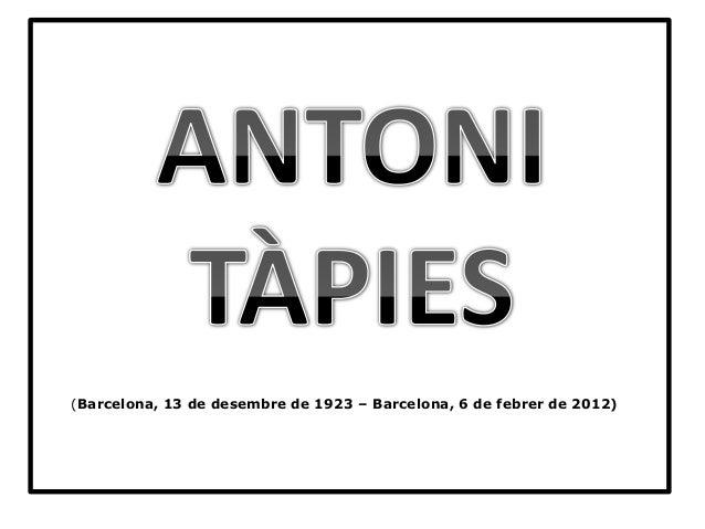 (Barcelona, 13 de desembre de 1923 – Barcelona, 6 de febrer de 2012)