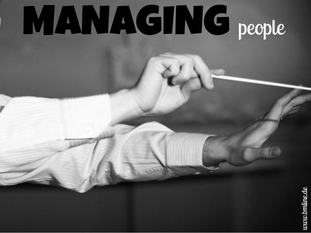 MANAGING people www.bmline.de