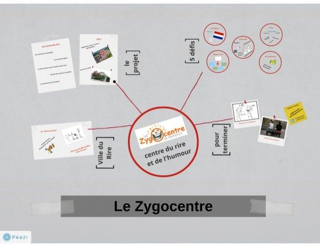 Le Zygocentre de Rochefort - projet de création d'une attraction touristique sur le rire