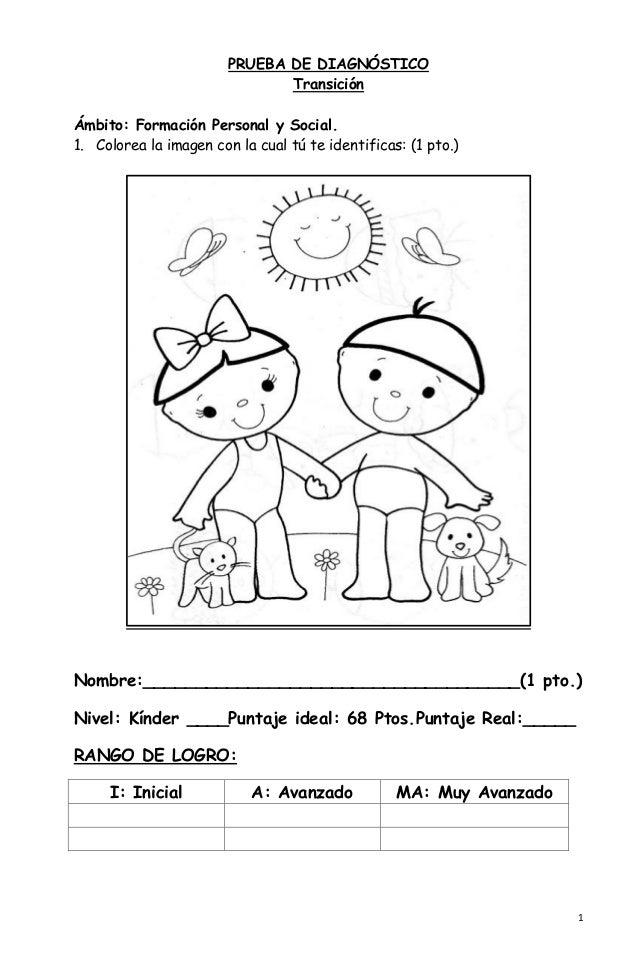 Atractivo Primer Día De Kindergarten Para Colorear Modelo - Dibujos ...