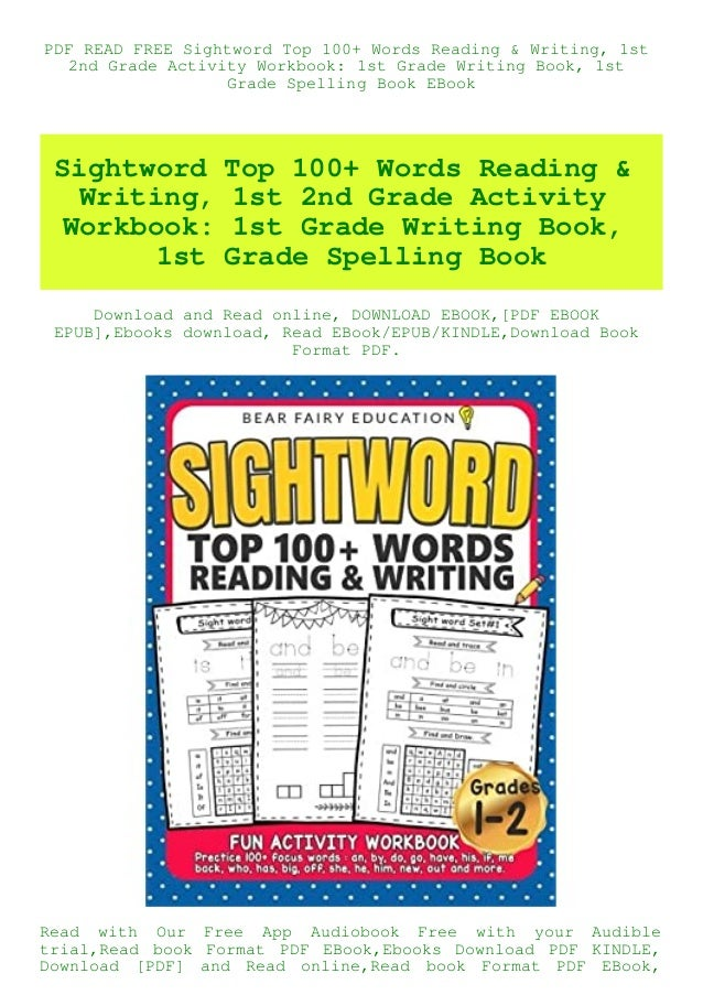 PDF READ FREE Sightword Top 100+ Words Reading & Writing 1st 2nd Gra…
