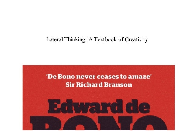 Lateral Thinking Pdf