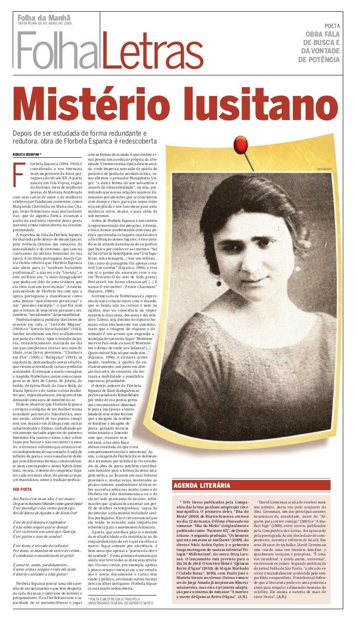 Folha da Manhã   SEXTA-FEIRA 02 DE ABRIL DE 2010                                                                          ...
