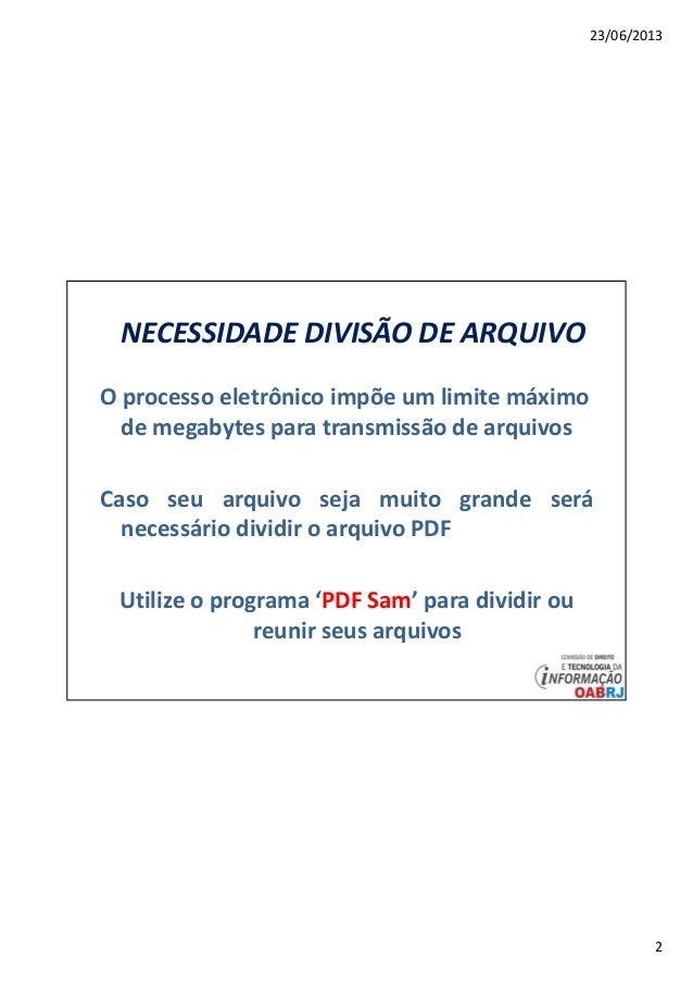 Arquivo pdf dividir
