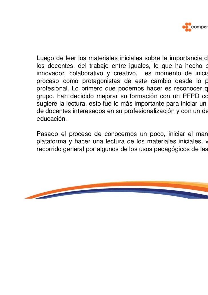 Enlaces de Chile, pionero en la integración de las TIC en la educación en América Latina, sugierealgunos de los usos pedag...