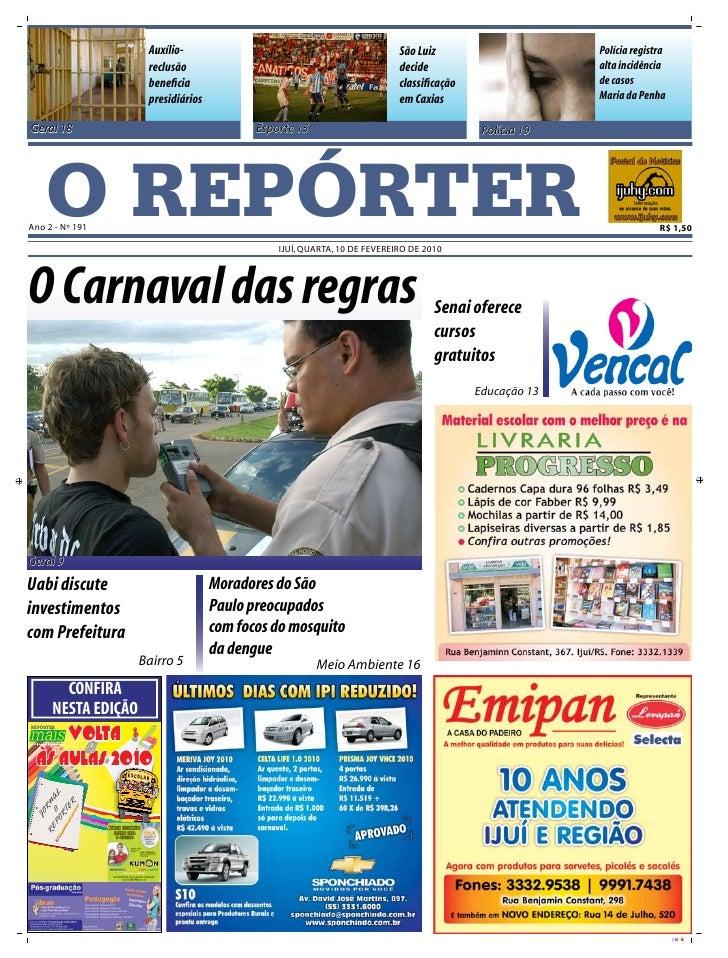 Auxílio-                                             São Luiz                      Polícia registra                       ...