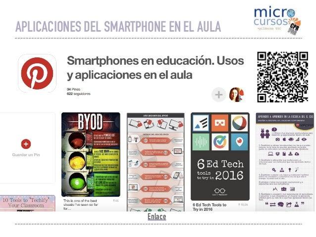 Aplicaciones del Smartphone en el aula Slide 3