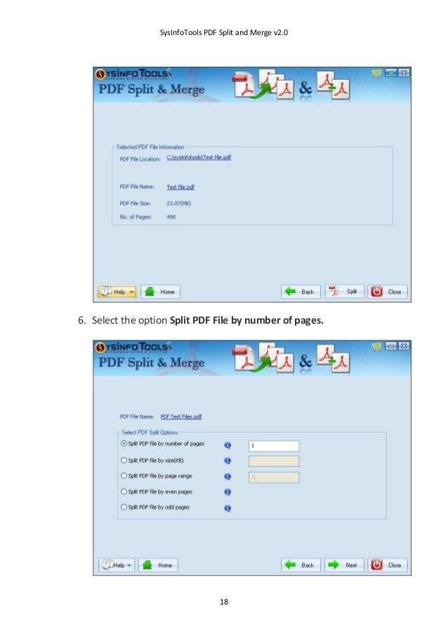 pdf split and merge download