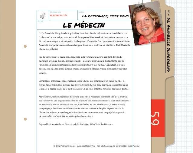 59  LA RESSOURCE, C'EST VOUS  Le Dr Annabelle Slingerland est spécialisée dans la recherche et le traitement du diabète ch...