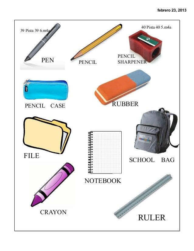 Pdf tema 2 classroom objects repaso for 10 objetos en ingles del salon de clases
