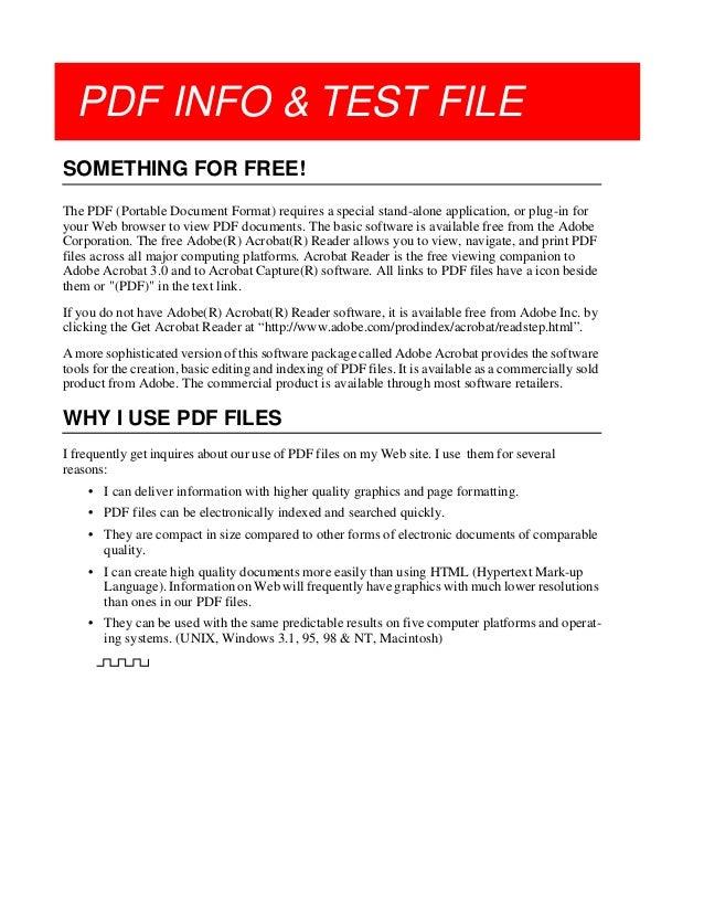 PDF TEST FILE DOWNLOAD