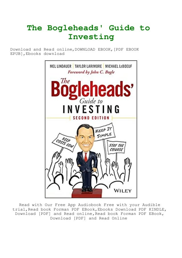 Pdf The Bogleheads Guide To Investing Online Book