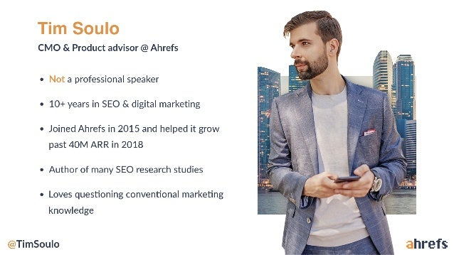 Rethinking The Fundamentals of Keyword Research With The Insights From Big Data by Tim Soulo, Ahrefs Slide 2