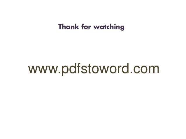 word docx to pdf online