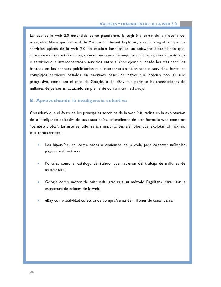 VALORES Y HERRAMIENTAS DE LA WEB 2.0                                     Página principal de Ebay.                        ...