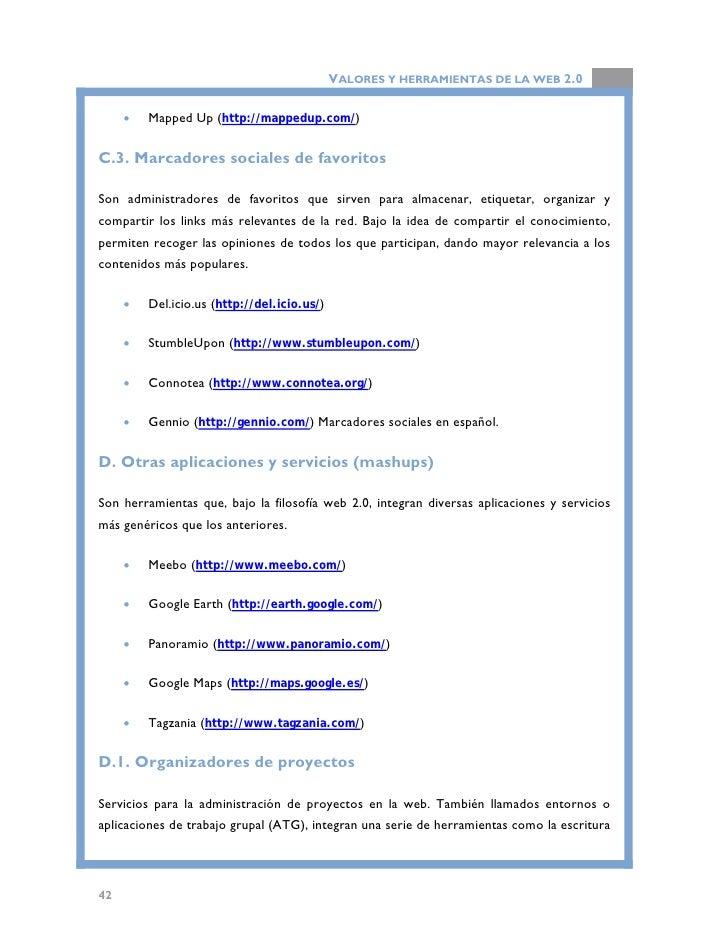 VALORES Y HERRAMIENTAS DE LA WEB 2.0  colaborativa, intercambio de archivos, calendario-agenda, servicio de correo electró...