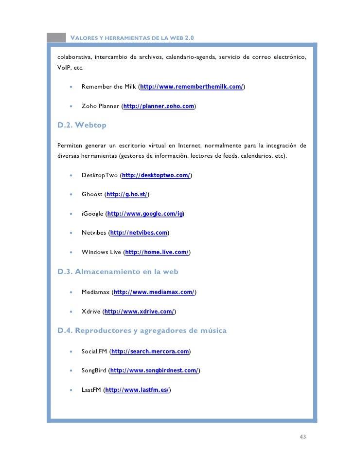 VALORES Y HERRAMIENTAS DE LA WEB 2.0   3. WEB SEMÁNTICA  3.1. Introducción  Una vez que hemos visto el significado de la w...