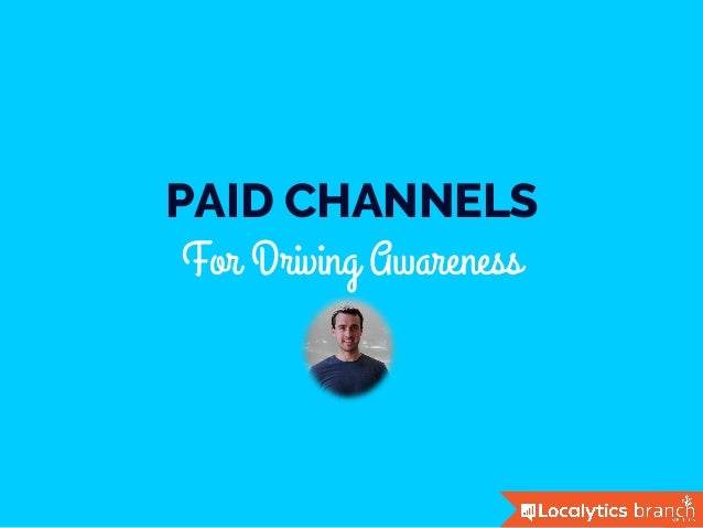 PAID CHANNELS For Driving Awareness