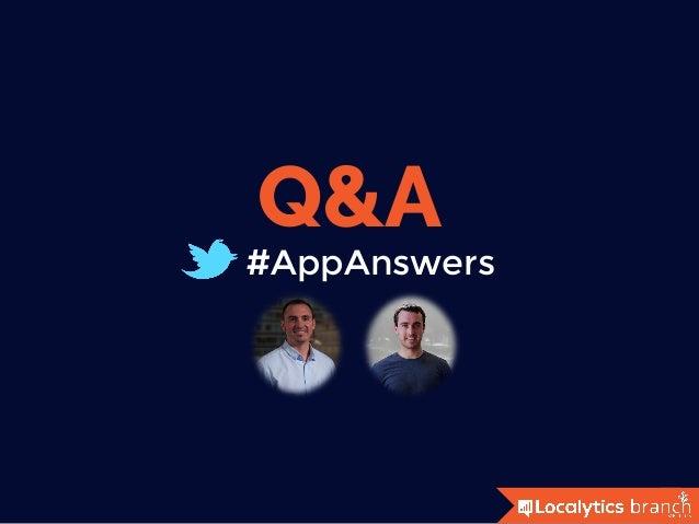 #AppAnswers Q&A
