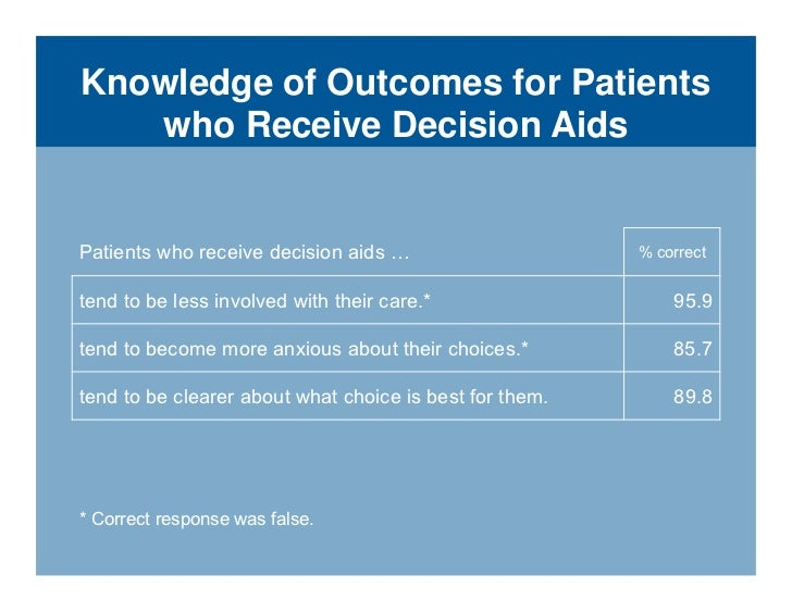 Decision making a primary task of