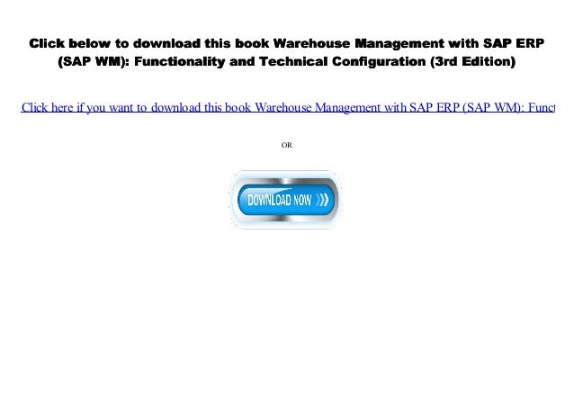 PDF] Warehouse Management with SAP ERP (SAP WM
