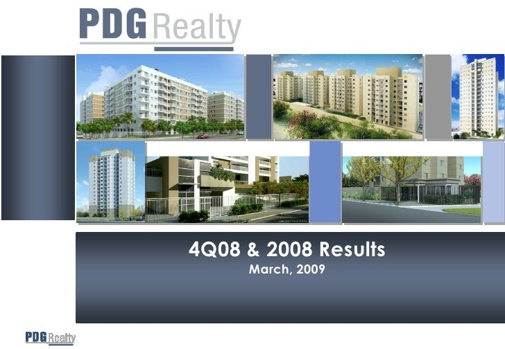 4Q08 & 2008 Results      March, 2009