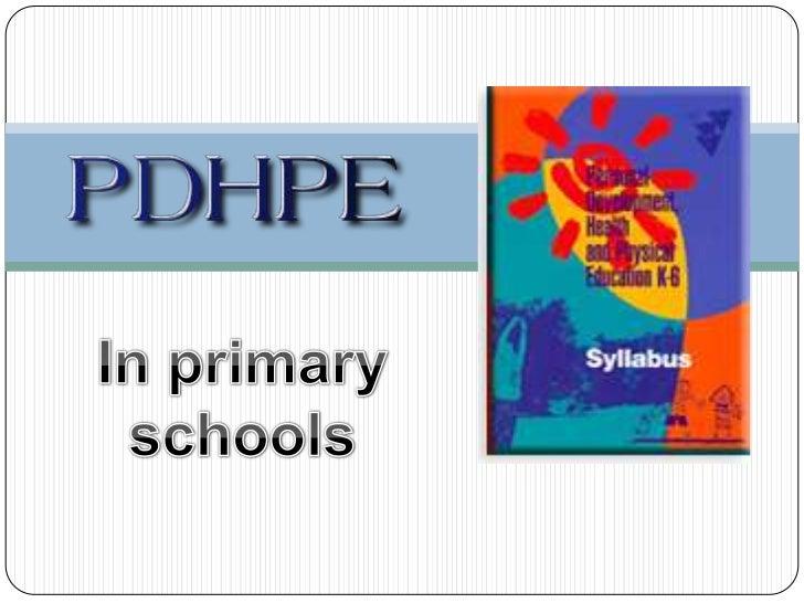 In primary schools<br />