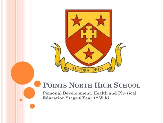 POINTS NORTH HIGH SCHOOL Personal Development, Health and Physical Education Stage 6 Year 12 Wiki