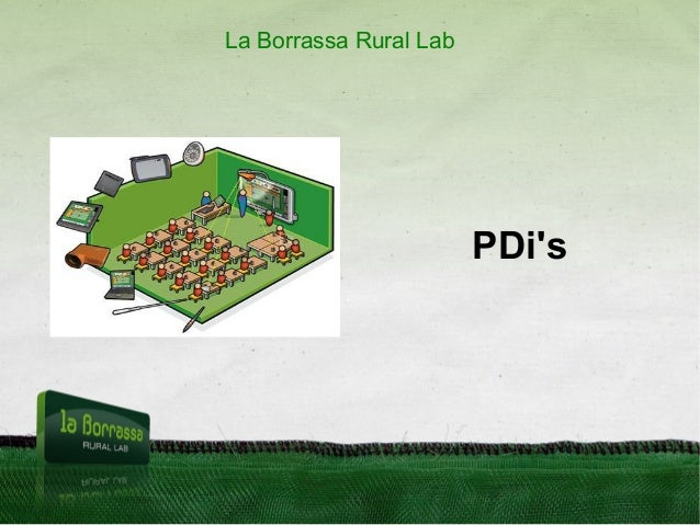 PDi's La Borrassa Rural Lab