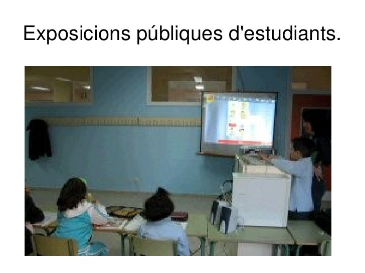 Suport a les explicacions del professorat.