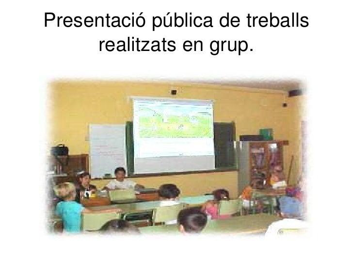 Presentació activitats i recursos per al tractament de la diversitat.