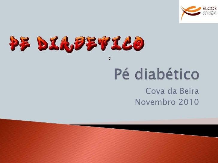 Pé diabético elcos cova beira 2010
