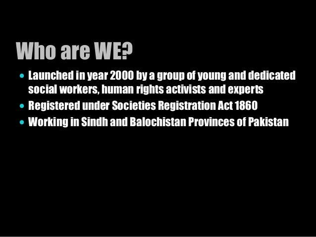 societies registration act 1860 pakistan pdf