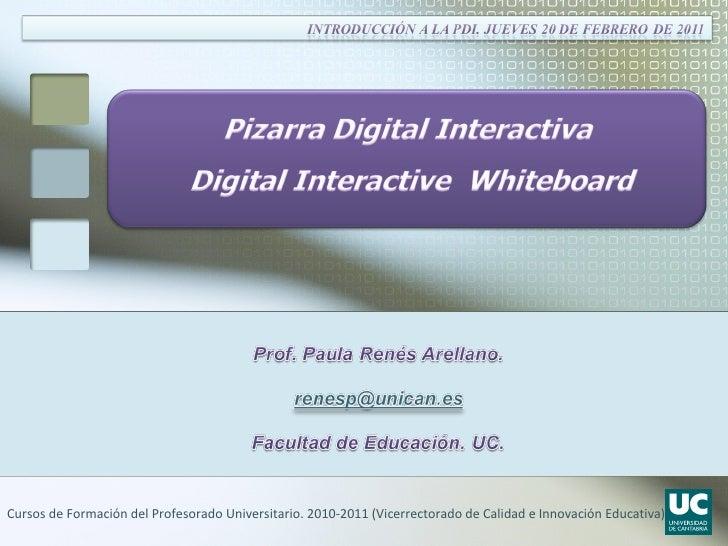 Cursos de Formación del Profesorado Universitario. 2010-2011 (Vicerrectorado de Calidad e Innovación Educativa)