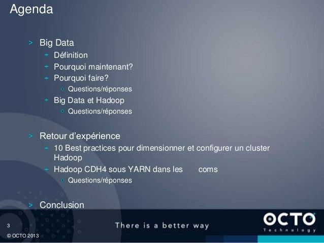 Présentation Big Data et REX Hadoop Slide 3