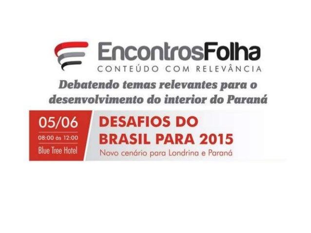 Plano de Desenvolvimento Industrial de Londrina Ensaios para a modelagem de uma proposta conceitual e estrutural Londrina ...