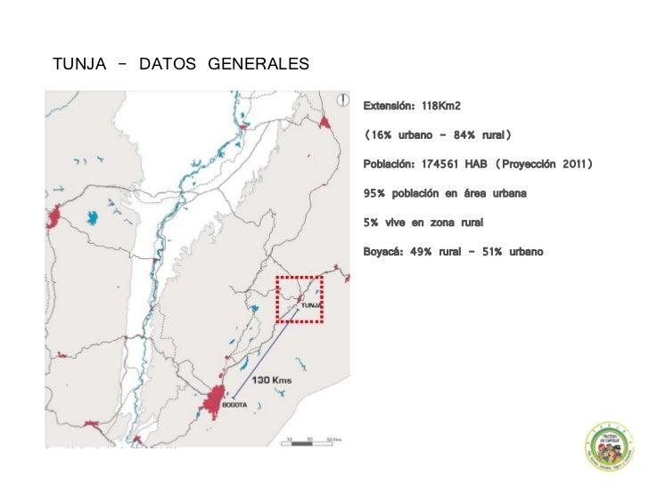 Plan De Desarrollo De Tunja Hechos De Verdad - Tunja map