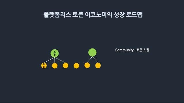 플랫폼리스 토큰 이코노미의 성장 로드맵 스 왑 토 큰 Community : 토큰 스왑