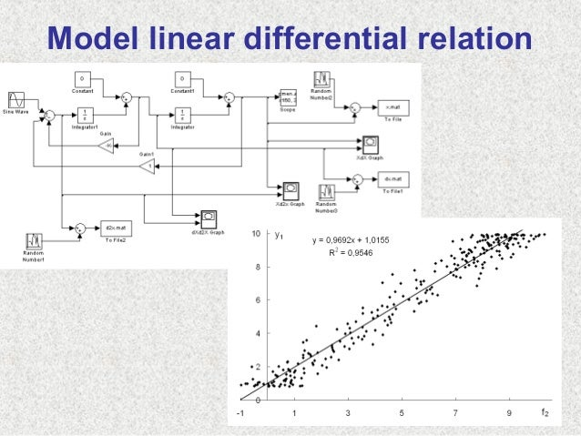 Model linear differential relation