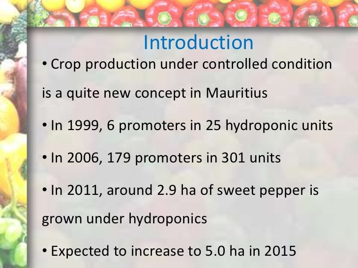 Pests and diseases of greenhouse sweet peppers in mauritius - Increase greenhouse production cost free trick ...