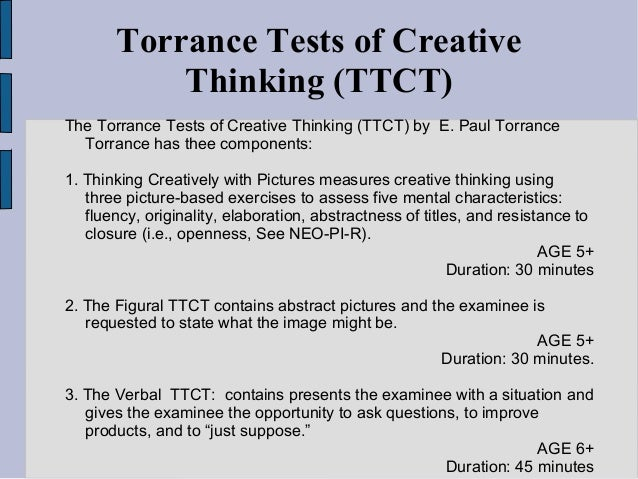 torrance test of critical thinking 1 s:\\assessment rsity-wide assessments\ttct\2014-2015\2014-2015 torrance test of creative thinking results washburn university, strategic analysis and reporting.