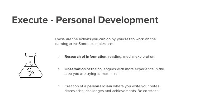 PDP Your personal development plan – Example of a Personal Development Plan
