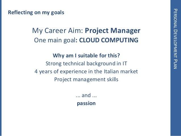 My Personal Development Plan