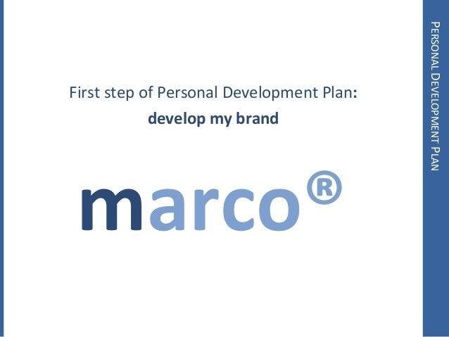 My Personal Development Plan – Personality Development Plan