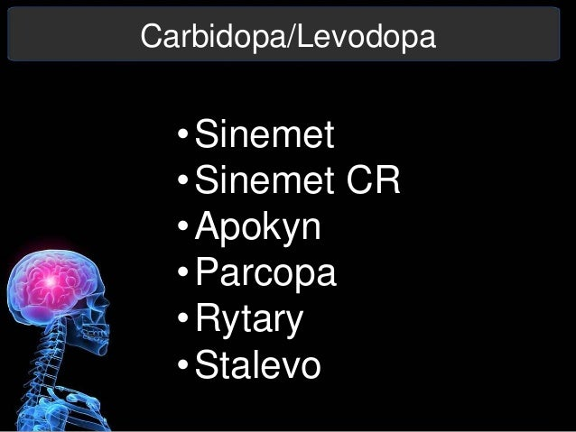 Carbidopa-Levodopa (Parcopa)