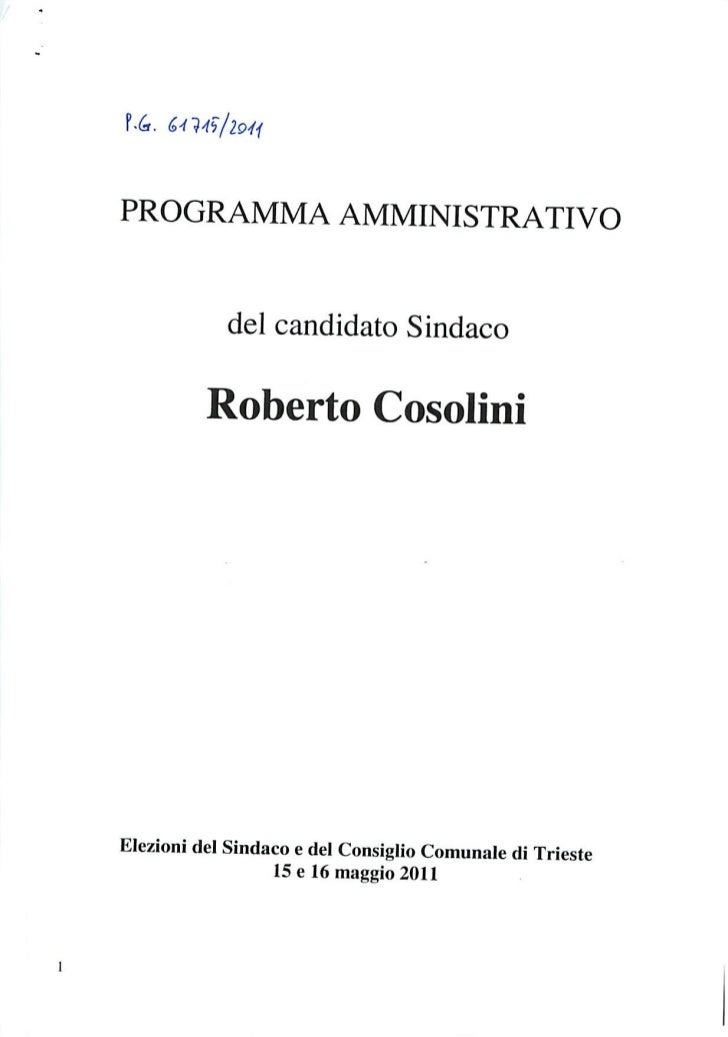 Pd programma bilancio