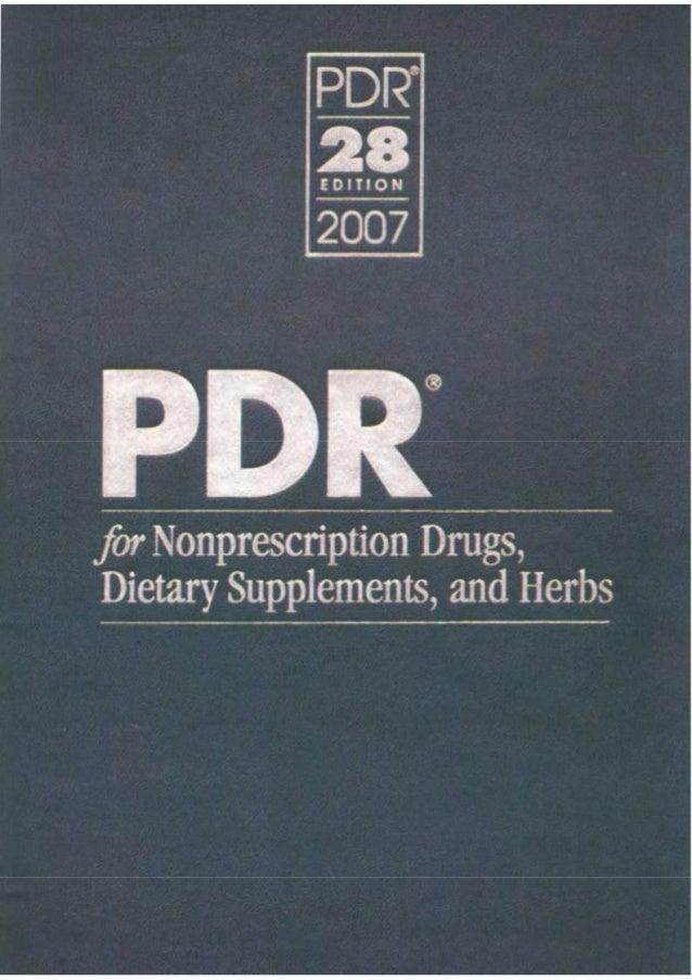 Anuário Médico - PDR Norte Americano